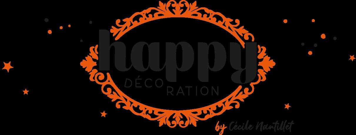 Logo bandeau Happy Décoration, Décoratrice d'Intérieur à Besançon, Doubs 25